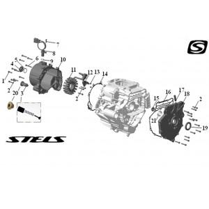 Картер ДВС, квадроцикл Stels Guepard 850G