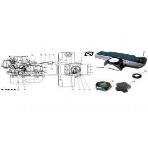 Топливная система, квадроцикл Stels Guepard 850G