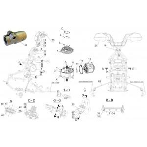 Электро усилитель руля, квадроцикл Stels Guepard 850G
