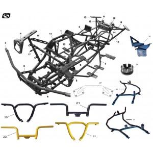 Рама, квадроцикл Stels Guepard 850G