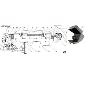 Воздушный фильтр, квадроцикл Stels Guepard 850G