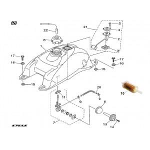 Система питания (бак топливный для первой партии ATV)
