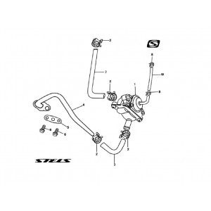 Клапан рециркуляции (кроме 650EFI)