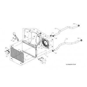 Система охлаждения (карбюратор)