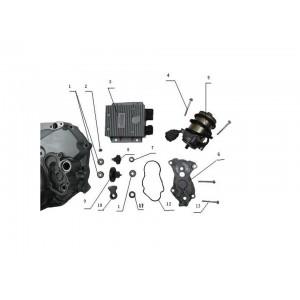 Электромеханическое устройство переключения передач