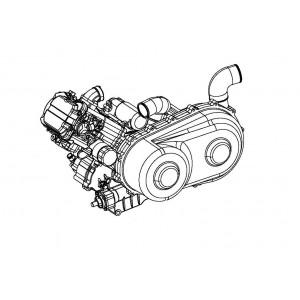 STELS ATV 500 GT (двигатель)