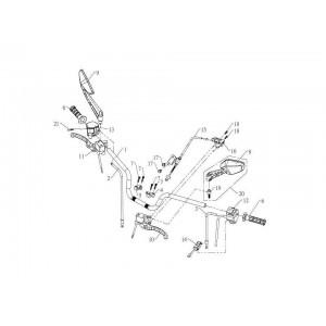 Детали руля (карбюратор инжектор)