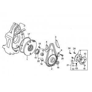 E-10 Механиз привода стартера