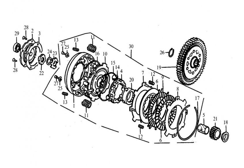 E-07 Сцепление
