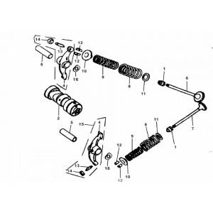 E-03 Распредвал и клапана
