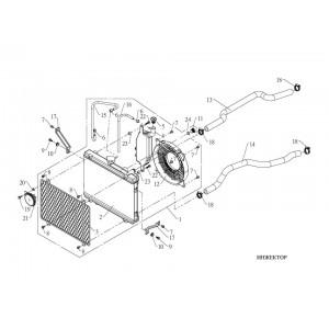 Система охлаждения (инжектор)