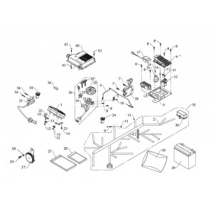 Электрооборудование (инжектор + EPS)