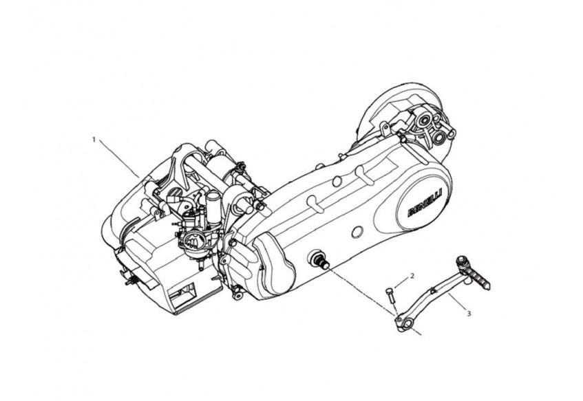 STELS ALPHA 50 BENELLI (двигатель для модели 2011 года)