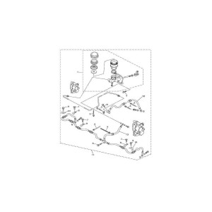 Тормозная система (3 тормозных диска)