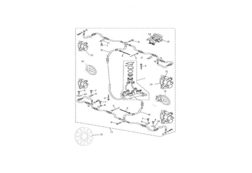Тормозная система (4 тормозных диска)