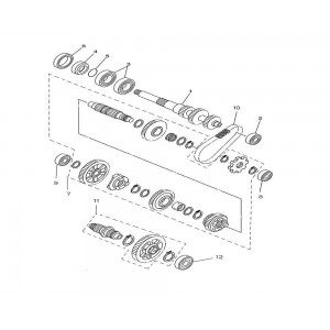 Шестерни механизма переключения передач
