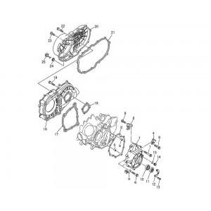 Крышка вариатора, двигателя