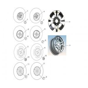 Диски, колпаки колес