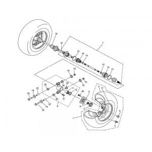 Привода задних колес