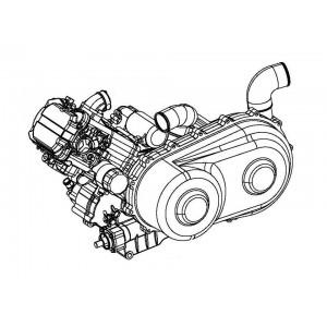 Двигатель в сборе 500 см3