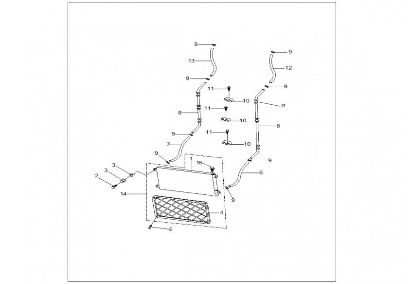 Трубопроводы масляной системы