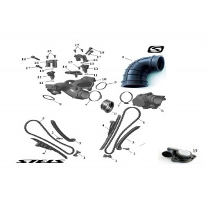 Система питания ДВС, квадроцикл Stels Guepard 650G