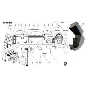 Система воздушного фильтра, квадроцикл Stels Guepard 650G
