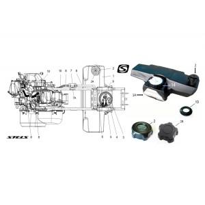 Топливная система ДВС, квадроцикл Stels Guepard 650G