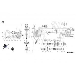 Коробка перемены передач, квадроцикл Stels Guepard 650G