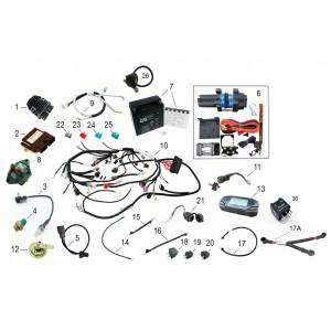 Электрооборудование, квадроцикл Stels Guepard 650G