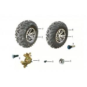 Колеса, квадроцикл Stels Guepard 650G