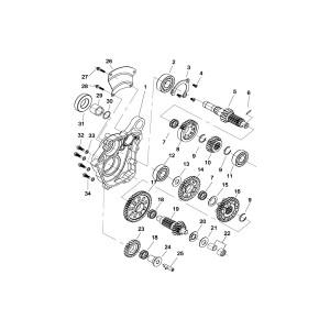 Шестерни коробки переключения передач