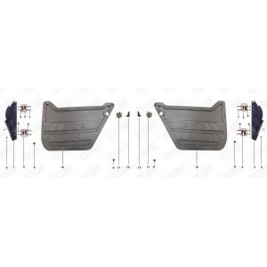Боковые двери квадроцикла side-by-syde Stels UTV 800V Dominator