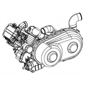 Запчасти двигателя квадроцикла side-by-syde Stels UTV 800V Dominator