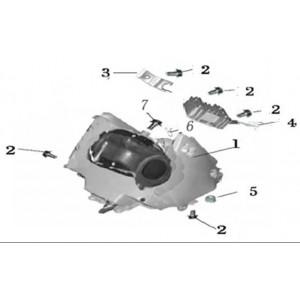 Фильтр воздушный мотоцикла Stels 400 GT