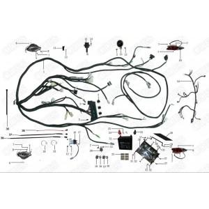 Запчасти электрооборудования мотоцикла Stels 600 Benelli