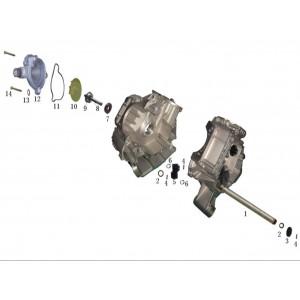 Запчасти системы охлаждения квадроцикла side-by-syde Stels UTV 800V Dominator