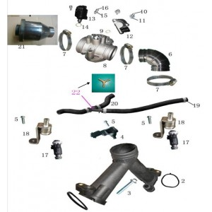 Запчасти топливной системы квадроцикла side-by-syde Stels UTV 800V Dominator