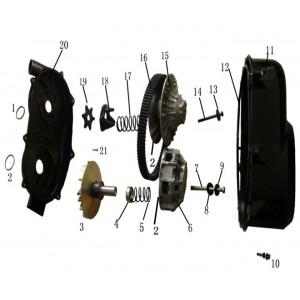 Запчасти вариатора квадроцикла side-by-syde Stels UTV 800V Dominator