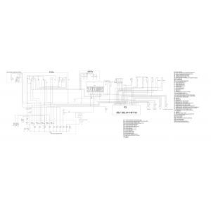 Полная схема электрооборудования снегохода S 800 Rosomaha