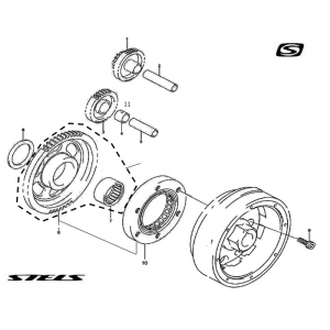 Механизм пуска ДВС