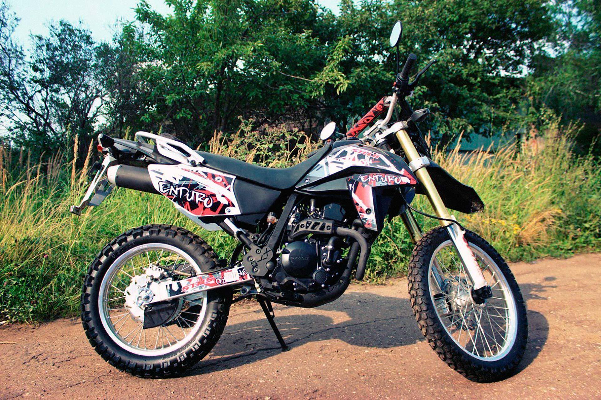 Запчасти для мотоциклов Стелс Эндуро